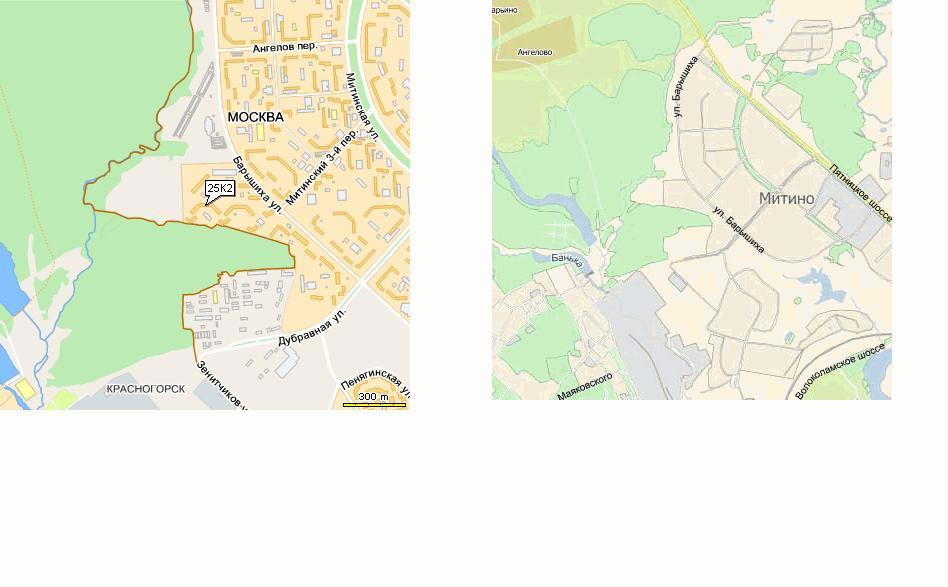 Схема проезда топографическая,